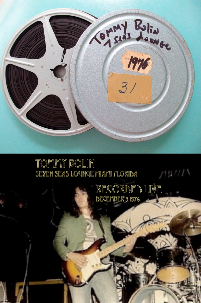 Tommy Bolin 7seaslounge Miami
