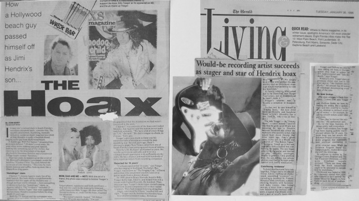 Billy Yeager Jimmy Story Jimi Hendrix Hoax Miami Herald