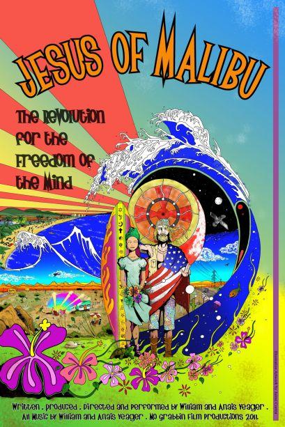 Jesus of Malibu Poster Yeager