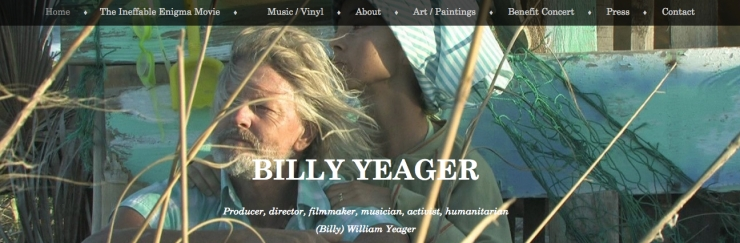 billy yeager front page