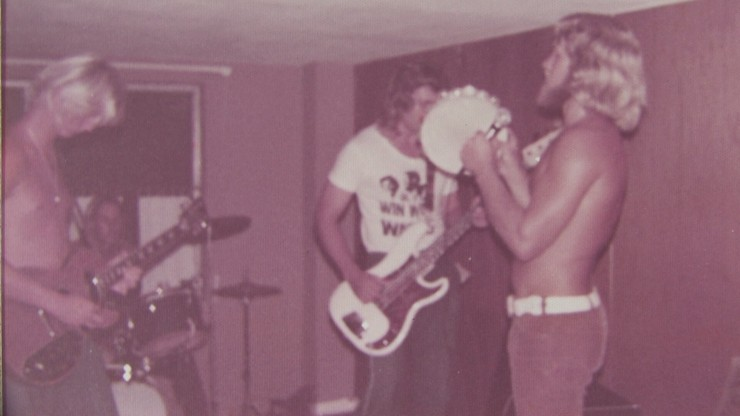 billy yeager jamming 1972